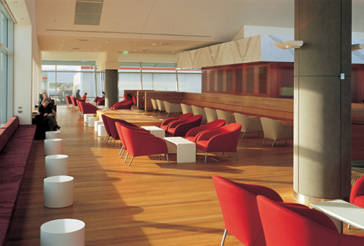 Qantas Club Lounge 3