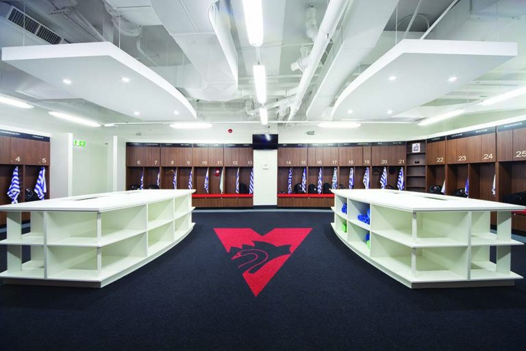 1. Sydney Swans Locker Rm _ Traing Facilities 2013 016