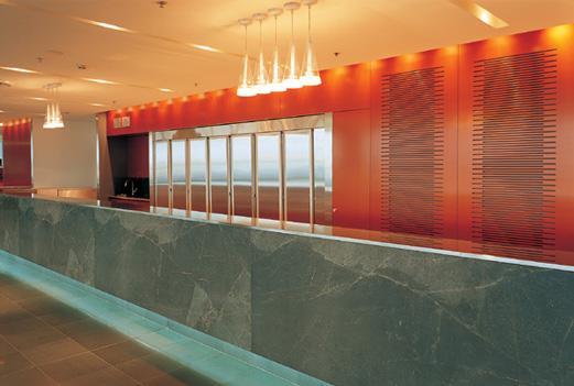 Qantas Club Lounge 1
