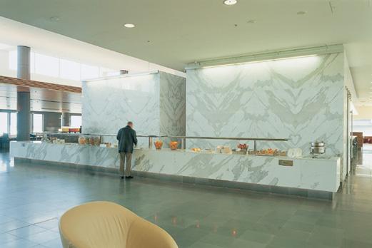 Qantas Club Lounge 4
